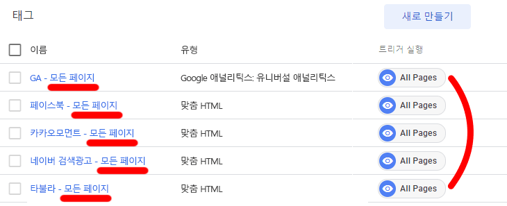 구글-태그-관리자-여러-플랫폼의-모든-페이지-태그